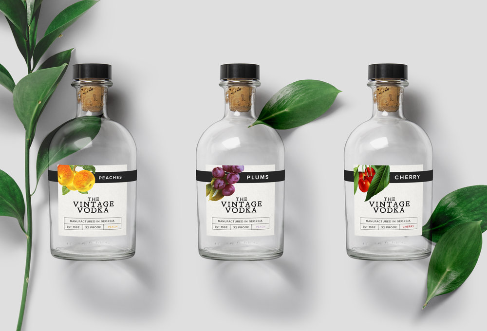 The Vintage Vodka / Branding