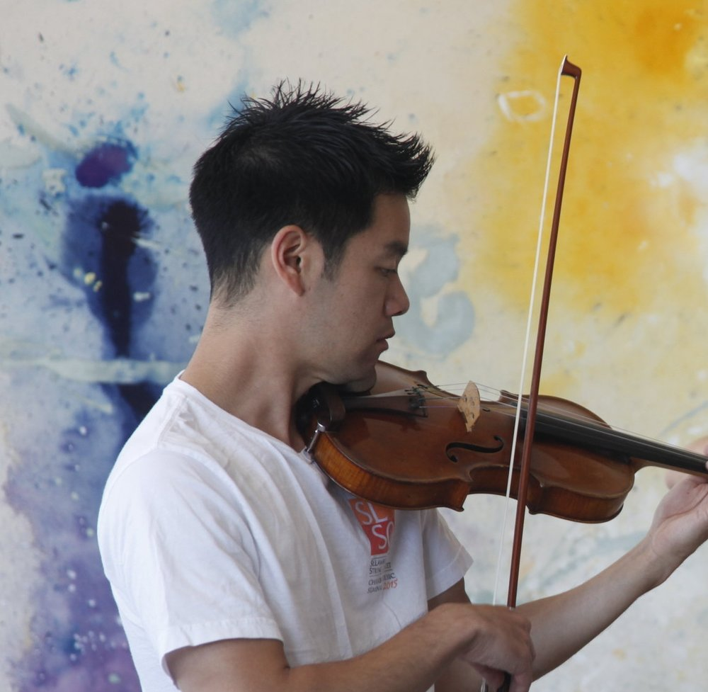 Ryan Lee, violin    Bio
