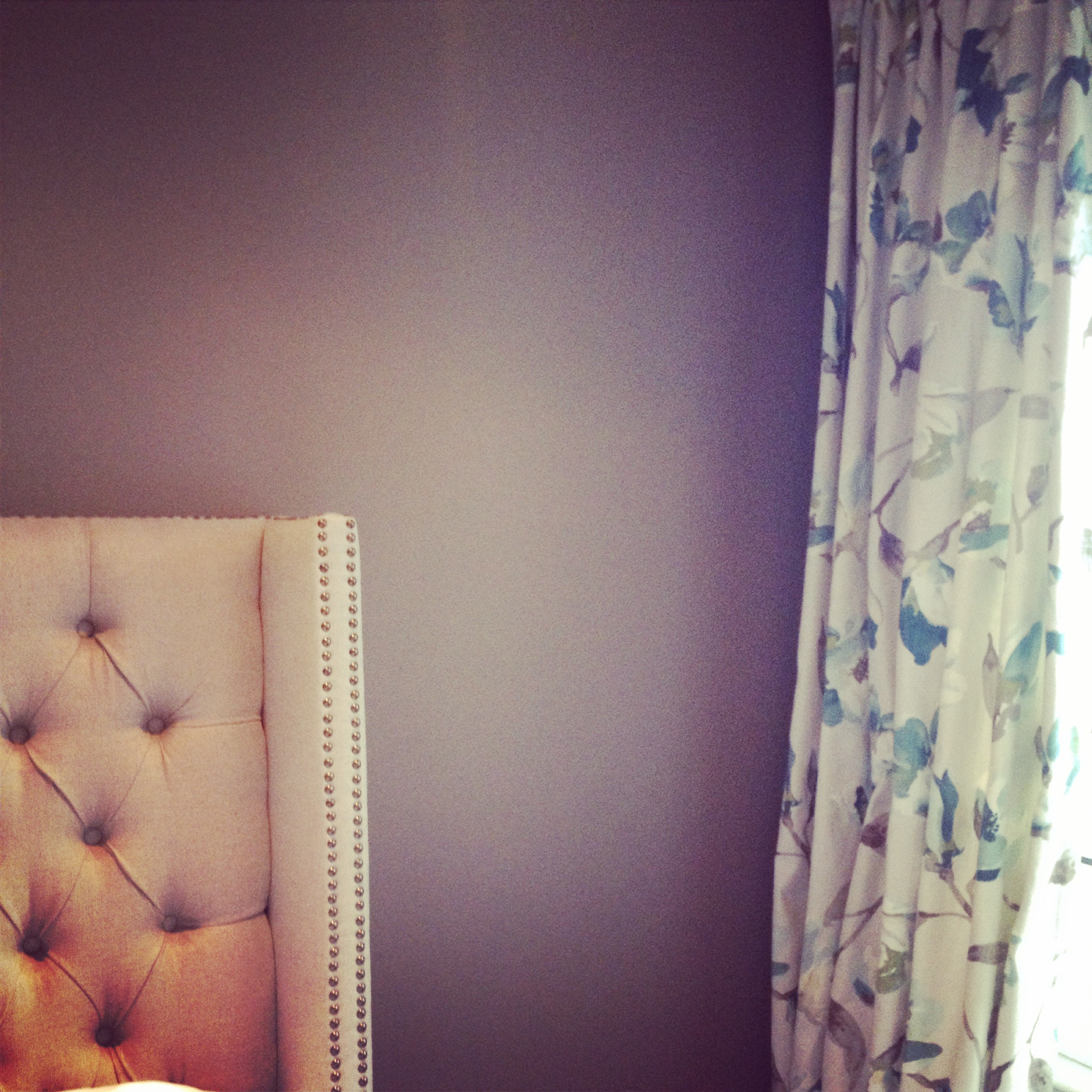 This master bedroom feels so calm and serene thanks to the gorgeous Tonic Living drapes!