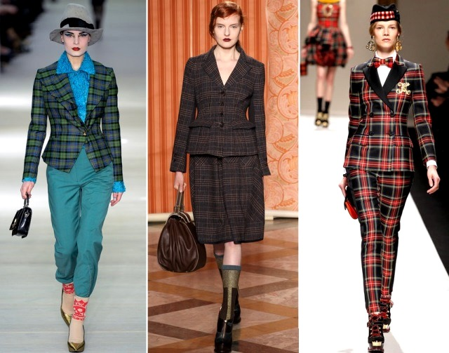What's better than plaid? MORE PLAID.