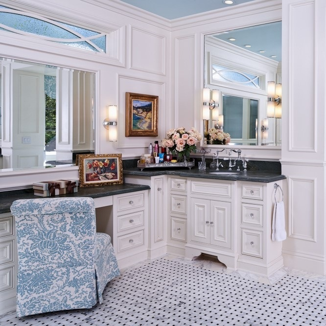 VANITY CABINETS - Our talented team at McKenzie's gives the same attention to our single vanity replacement projects as we do our highly custom master baths, which can be dripping with millwork. We want to be your trusted vendor for all your millwork needs.