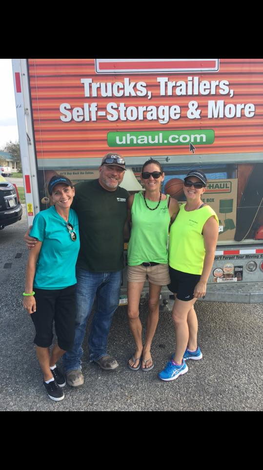Deliveries - While Jessica & I were gathering things up to deliver in Bonnieview these sweet people came up with a U-Haul truck and said they wanted it to go to our little community! We appreciate Y'all so much North Padre Watch. Tmrw we will be at it again, if you know someone in need please let us know... thank you Rachael Warner-Heintschel