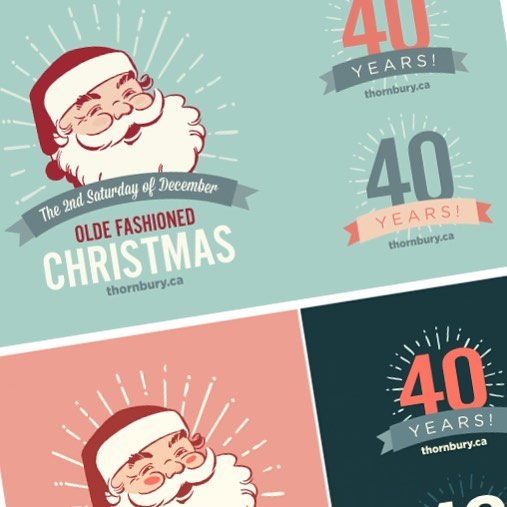 So it begins... Only 15 weeks until Christmas! #thornburyevents #newmockups #salmonisachristmascolour #wemakestuff #printing #design