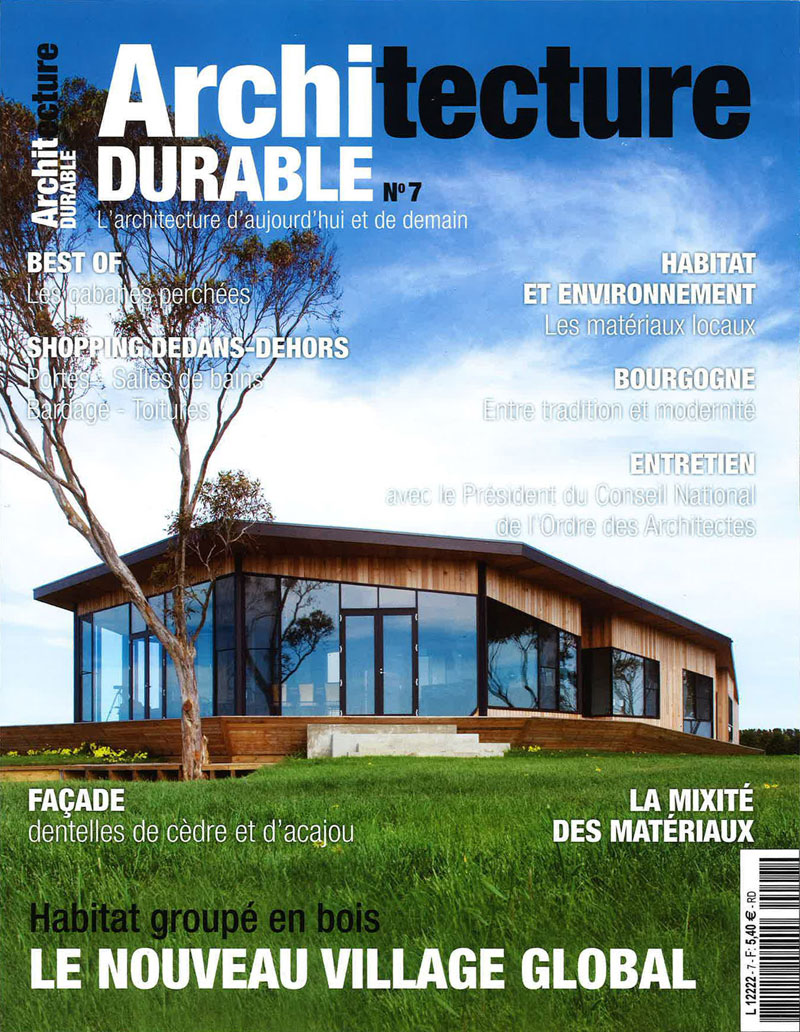 architecture durable french magazine rockefeller kempel architects. Black Bedroom Furniture Sets. Home Design Ideas