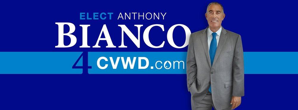 Elect Anthony Bianco for CVWD