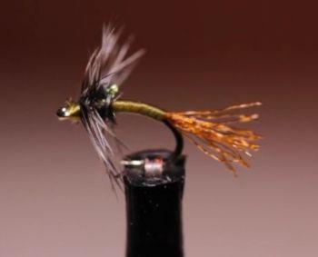 Griffith's Gnat Emerger Tied by Tim Flagler of Tight Line Productions