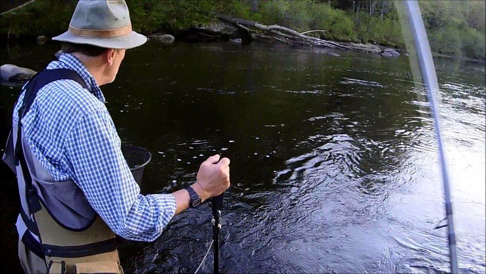 Fly Fishing Western Massachusetts Rivers    by  Ken Elmer