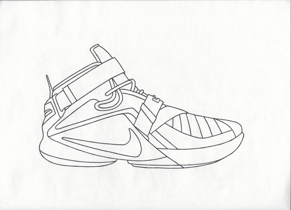 lebron 14 drawing sneakerclearance