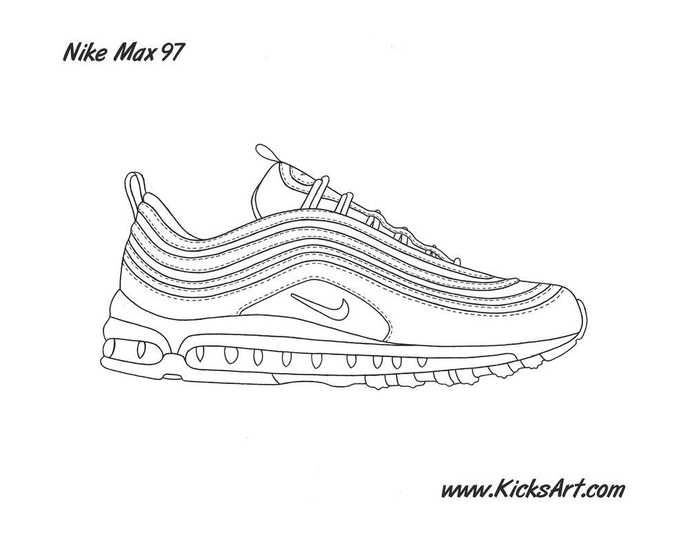 quality design 4721e 32236 nike air max stencil