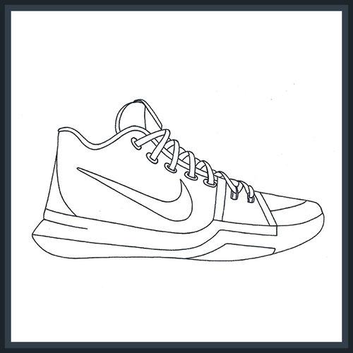 nike sneaker stencils templates kicksart