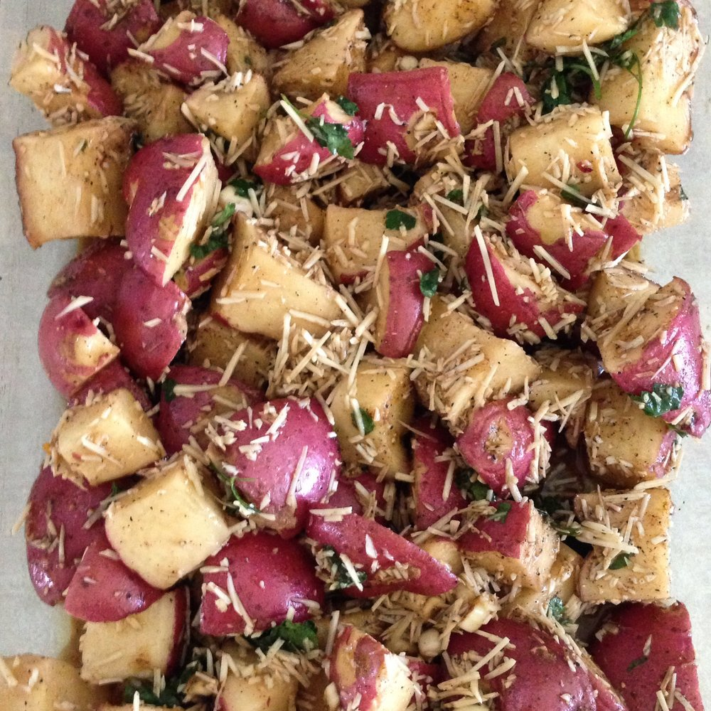 Tuscan roasted potatoes