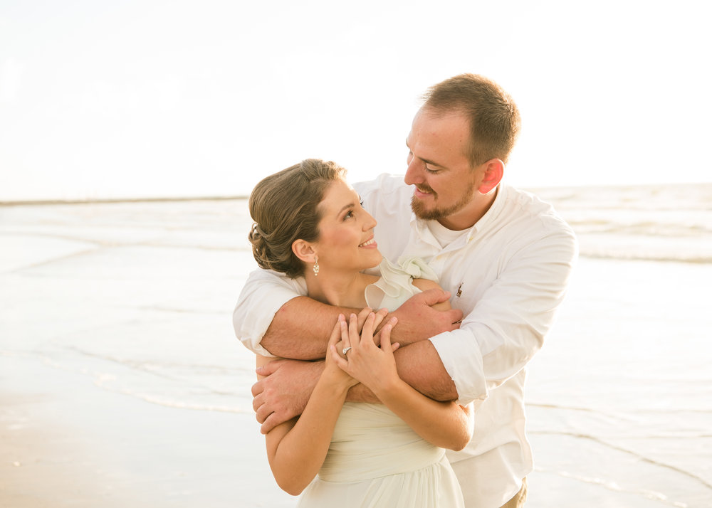 J&D Productions Galveston Island Engagement Photo