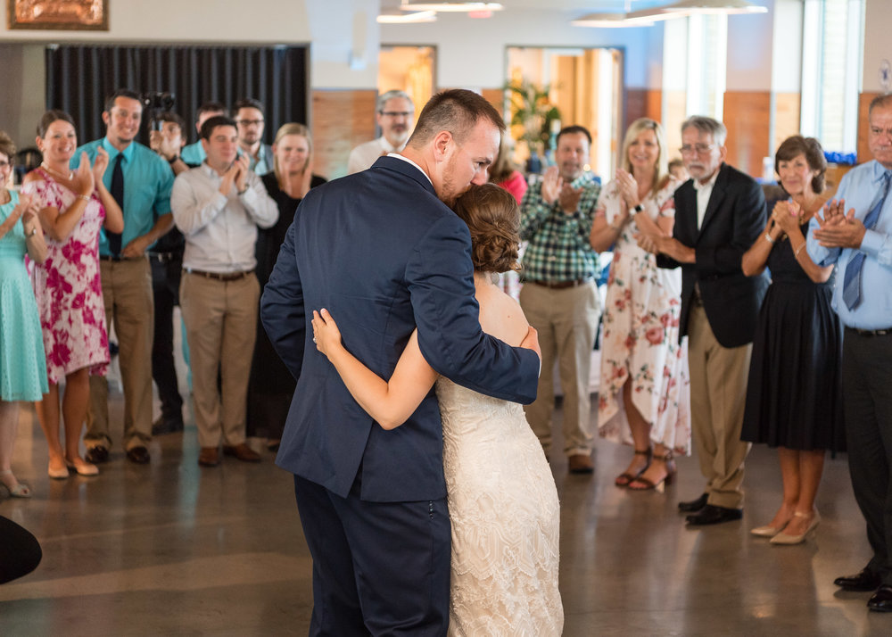 Our Last Dance at Wedding Reception