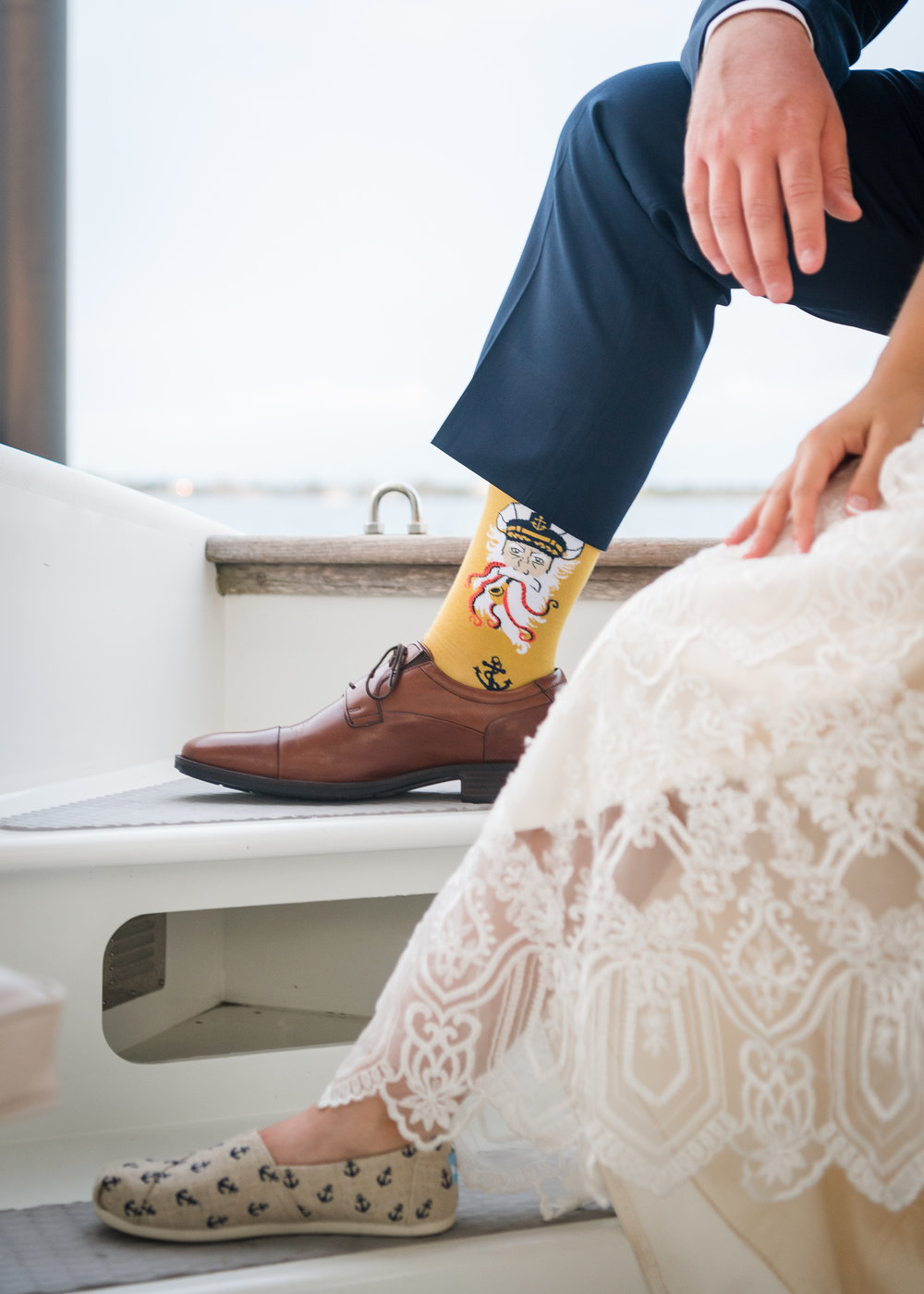 Wedding Socks and Shoes