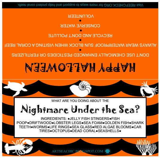Nightmare Under the Sea Printable