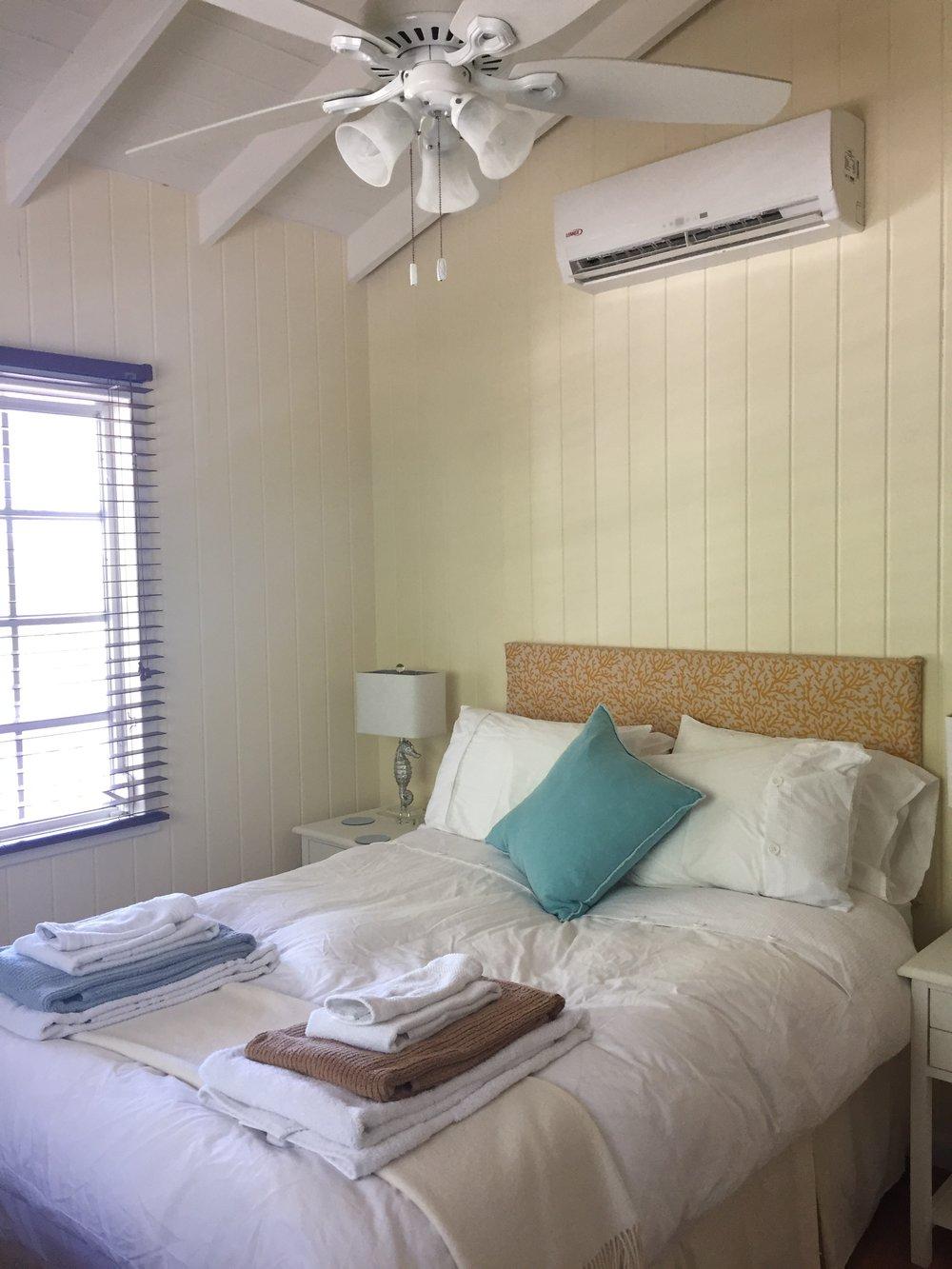 Serenity Cottage Master Bedroom