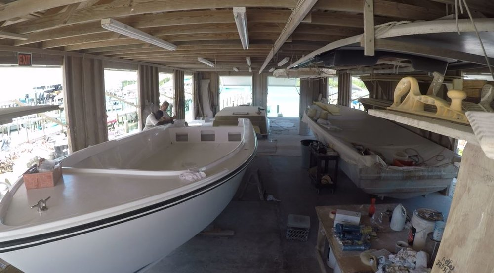 Man O War Boat Making