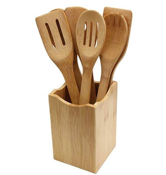 Eco-Friendly Bamboo Utensil Set 7 piece.JPG