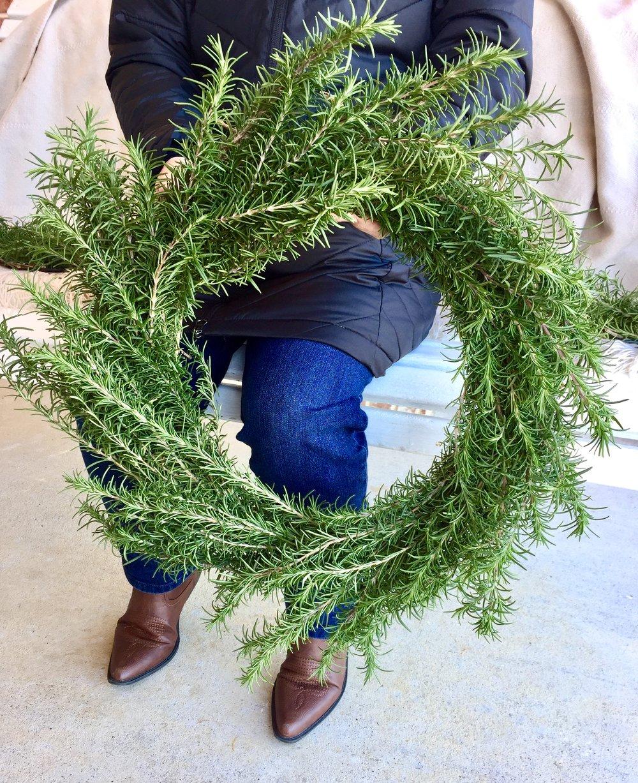Medium Size Rosemary Wreath.JPG