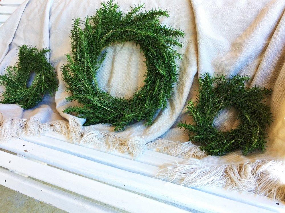 DIY Rosemary Wreaths.JPG