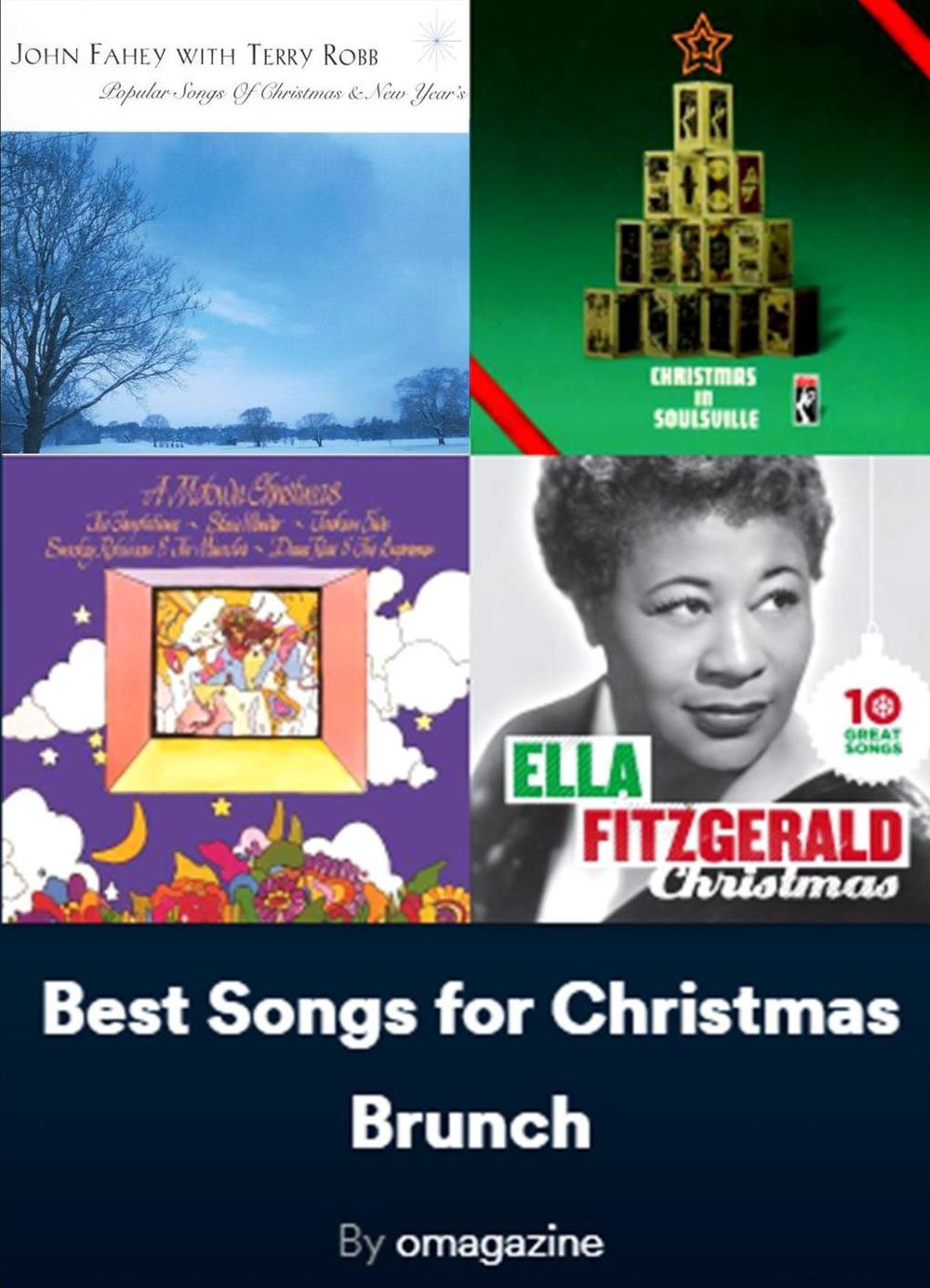 oprah play listjpg - Blues Christmas Songs