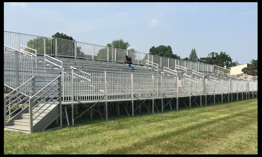 Elevated Aluminum Bleacher Rentals
