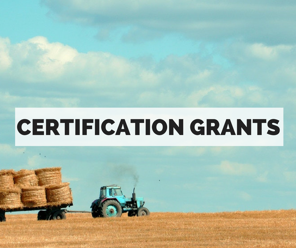 Does your project help you meet a specific certification standard and achieve certification from Animal Welfare Approved, Certified Humane or Global Animal Partnership (steps 4-5) certification?    > Apply for an Animal Welfare Certification Grant