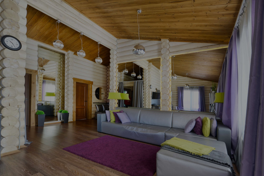 Мебели и интерьера загородного дома -