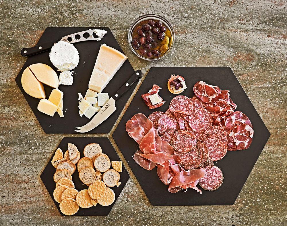 epicurean-serving board-display hexagon series-slate-set-env1.jpg