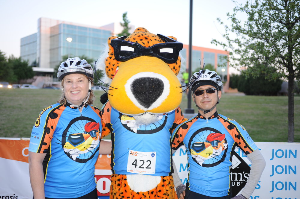 Chester With Bike MS Team Captains.JPG
