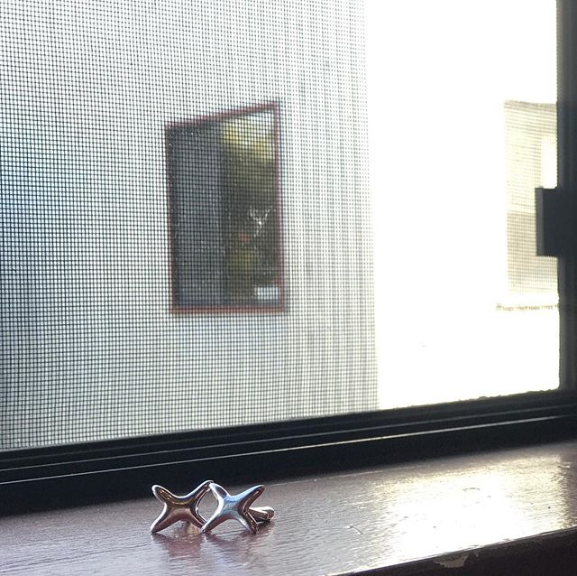 Some custom X cuff links for a client soaking up some sun before heading out to SF. ✖️✖️