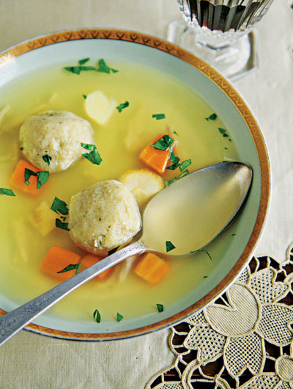 Matzoh Ball Soup