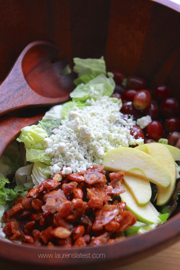 Harvest Apple Bleu Cheese Salad
