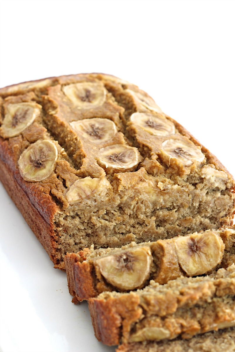 Flourless 5-Ingredient Banana Bread