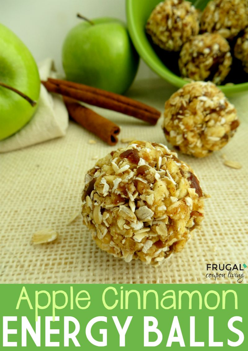 Apple Cinnamon Energy Balls