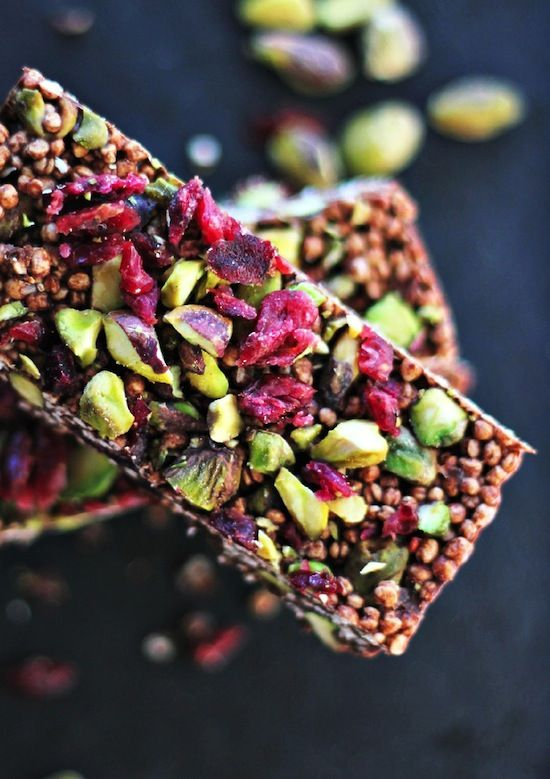 Quinoa Coconut Cacao Bar