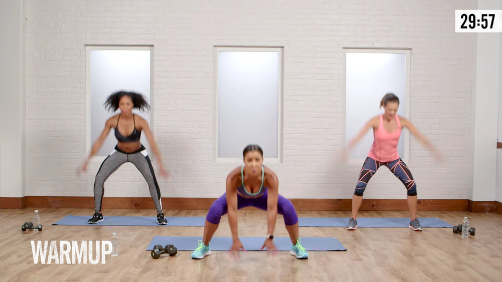 Fat Burning Cardio Sculpt Workout - PopSugar