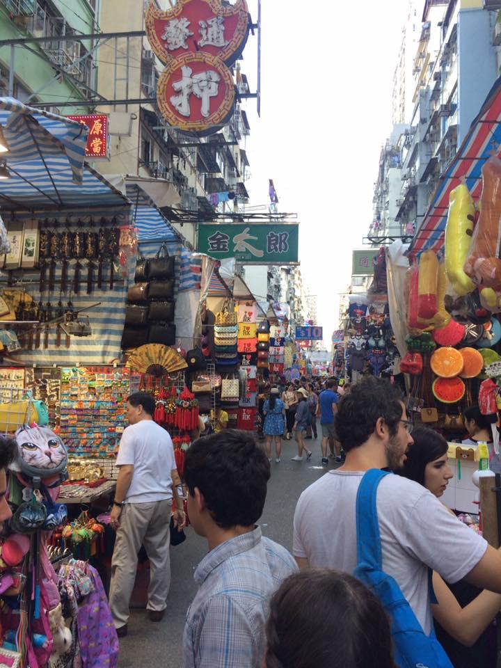 Ladies Market view.... stuff...stuff everywhere!