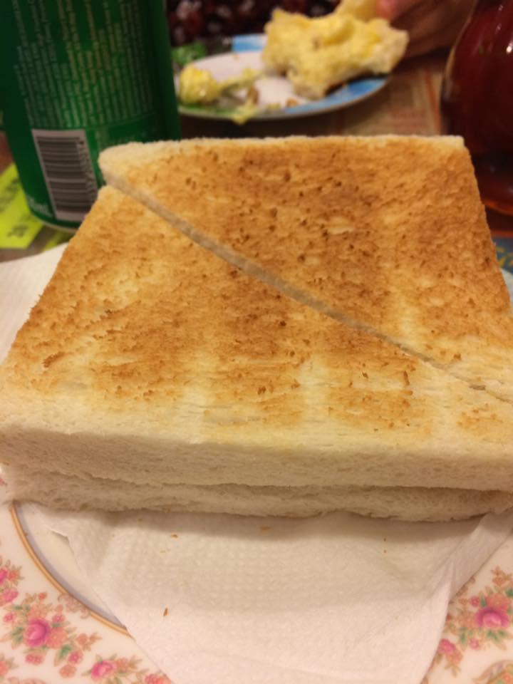 crustless bread.... #FTW