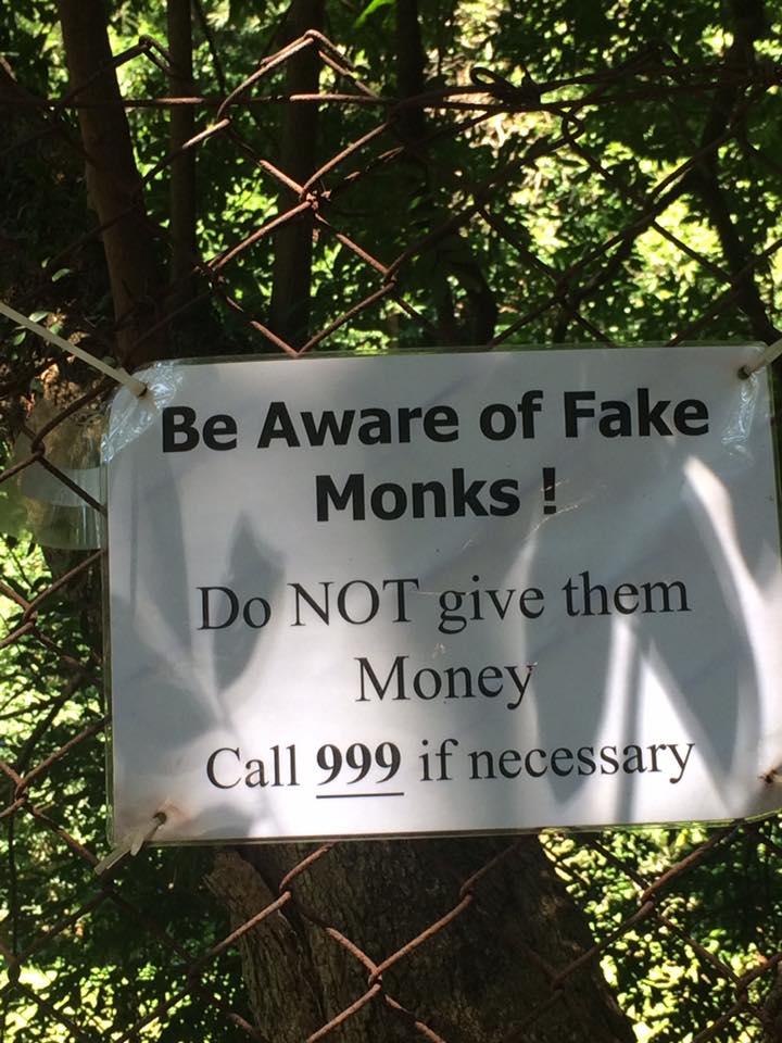 No Money for You, Fake Monk!