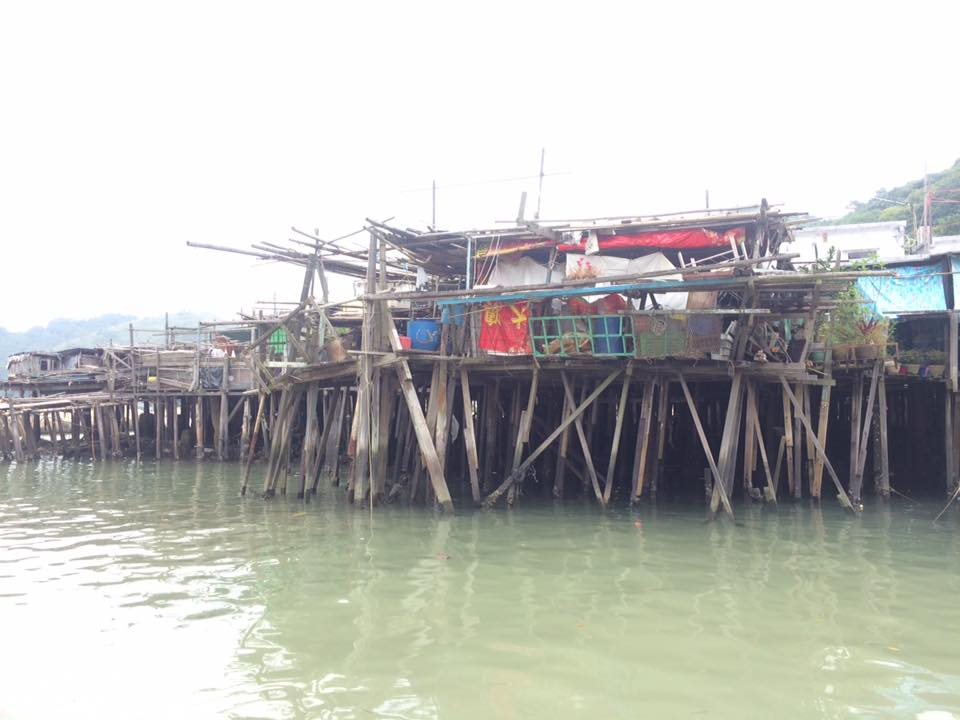 Tai O Fishing Village, Island of Lantau, Hong Kong