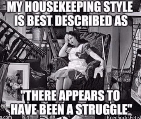 We can all relate, MooLinda, we can all relate! LOL