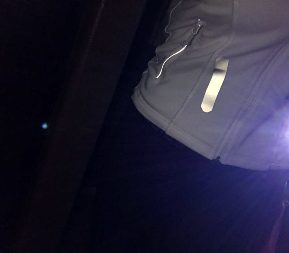 """"""" Disclaimer: I received Brilliant Reflective strips to review as part of being a BibRave Pro. Learn more about becoming a    BibRave Pro   (ambassador), and check out    BibRave.com   to review find and write race reviews!"""""""