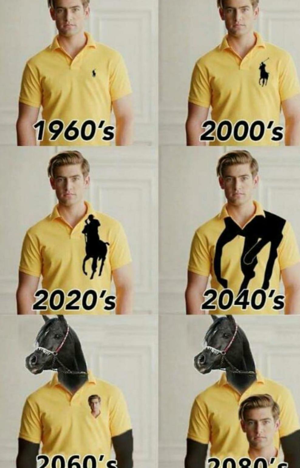 the evolution of a logo