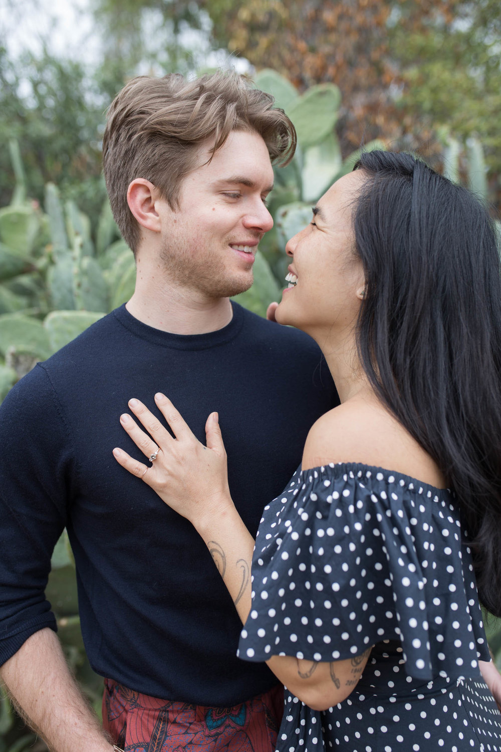Arlington Gardens Engagement Session - Kelly H Photo