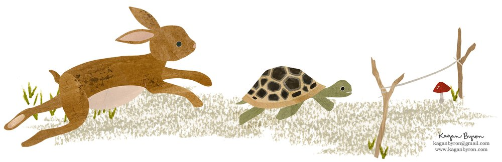 The Tortoise + The Hare