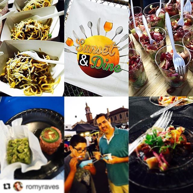 #Repost @romyraves with @repostapp ・・・ My boys and I had such fun time tonight at #SunsetAndDine @onlyinhwd local food & wine fest in the Sunset & Vine area of #Hollywood. Such a great, yummy neighborhood homespun event! . . . . . #foodie #foodblogger #sunsetblvd #sunsetandvine #eatlocal #localeats #noodleworld