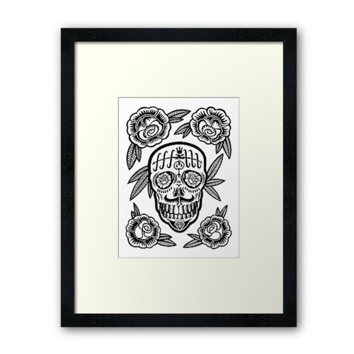 Prosperity Framed Print - $90