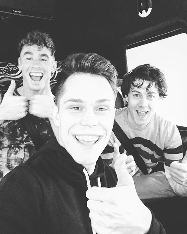 Don Broco enjoying their tour with 5 Seconds of Summer in one of our vans! #donbroco #5sos #tour #stagedrivetouring #cheersmatebye