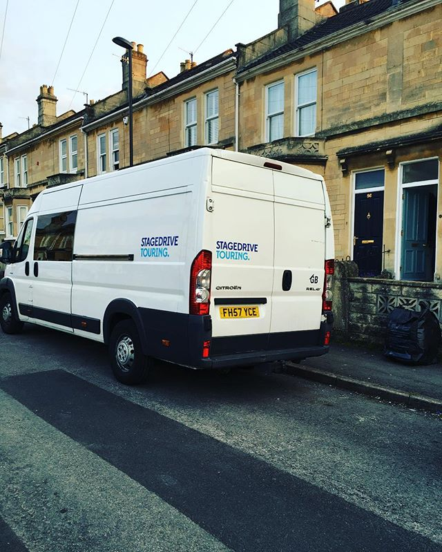 Budget van back with us after 4 weeks away with @maxraptorofficial !